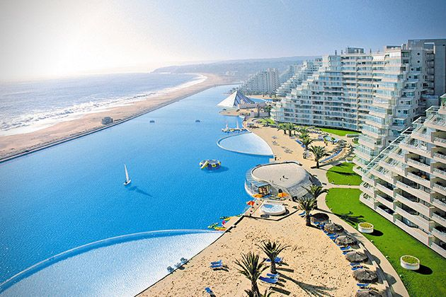 The 20 Best Hotel Pools In The World San Alfonso Del Marn Chile
