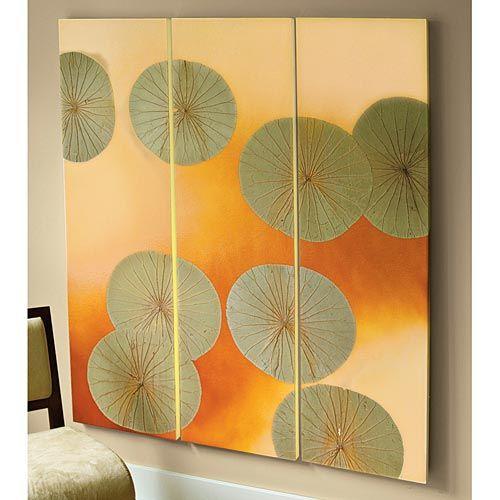 Lotus Leaf Japanese Wall Panels   Wallpaper Ideas   Pinterest ...