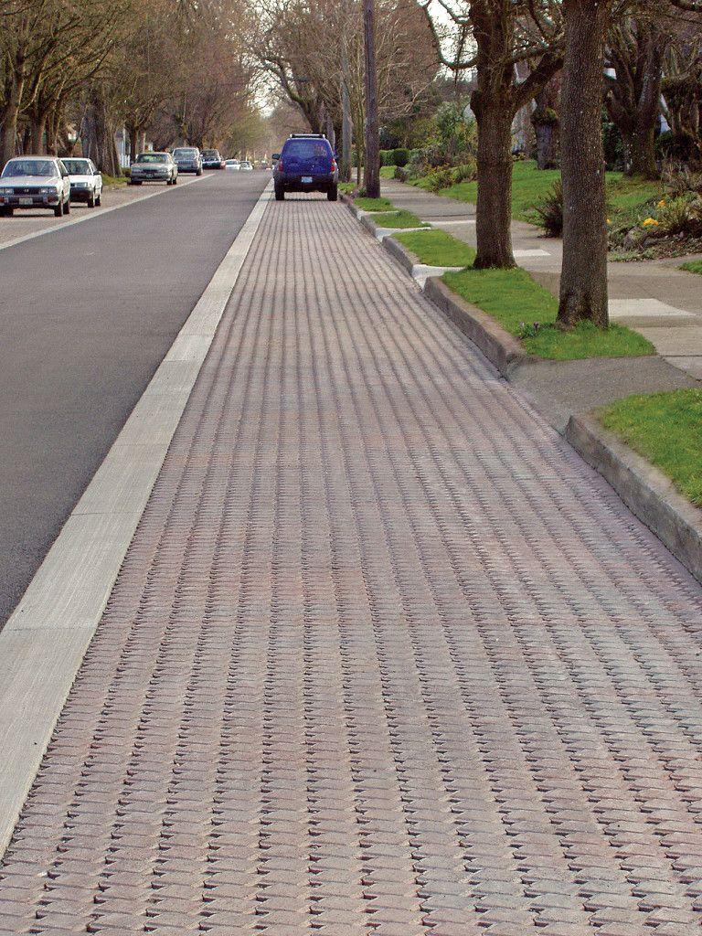 Westmoreland Permeable Pavement Pilot Project Mutual Materials Permeable Permeable Pavers Pervious Concrete