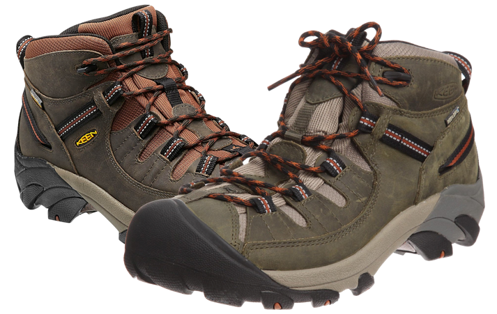 KEEN - Targhee II Mid (The Best Hiking Boots For Men)