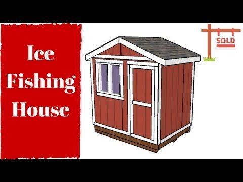 6x8 Ice Fishing House Plans MyOutdoorPlans