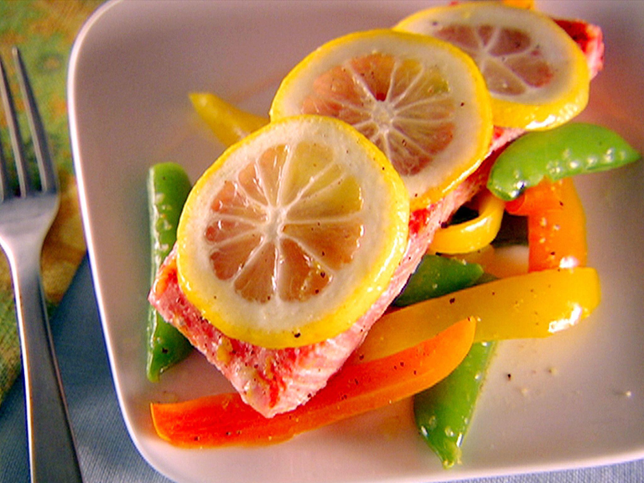 Italian Fish And Veggie Pockets