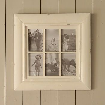 Cream Six Picture Multi Frame | Multi photo, Sitting rooms and ...