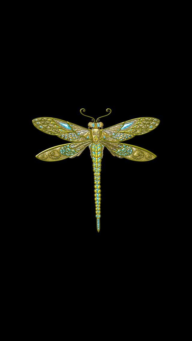 Wallpaper Iphone Dragonfly Wallpaper Dark Wallpaper Flowery Wallpaper