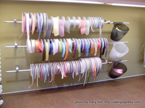 Use a dowel rack to hold S hooks to hold rings, bracelets and necklaces. (still thinking about how to store post earrings in sight, as well.)