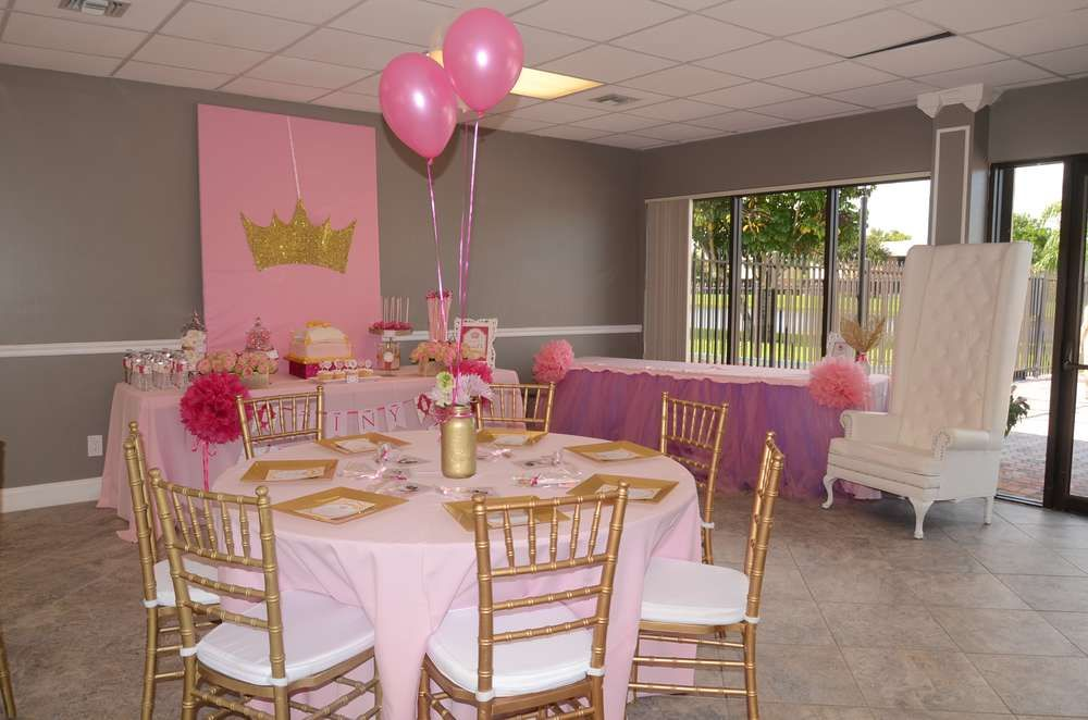 ROYAL PRINCESS Baby Shower Party Ideas | Photo 12 Of 12 | Catch My Party