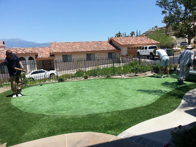 Pin by QUIKRETE on Building a Backyard Putting Green ...