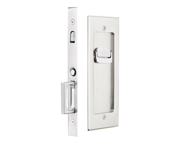 Pocket Door Mortise Modern Rectangular Emtek Products Inc