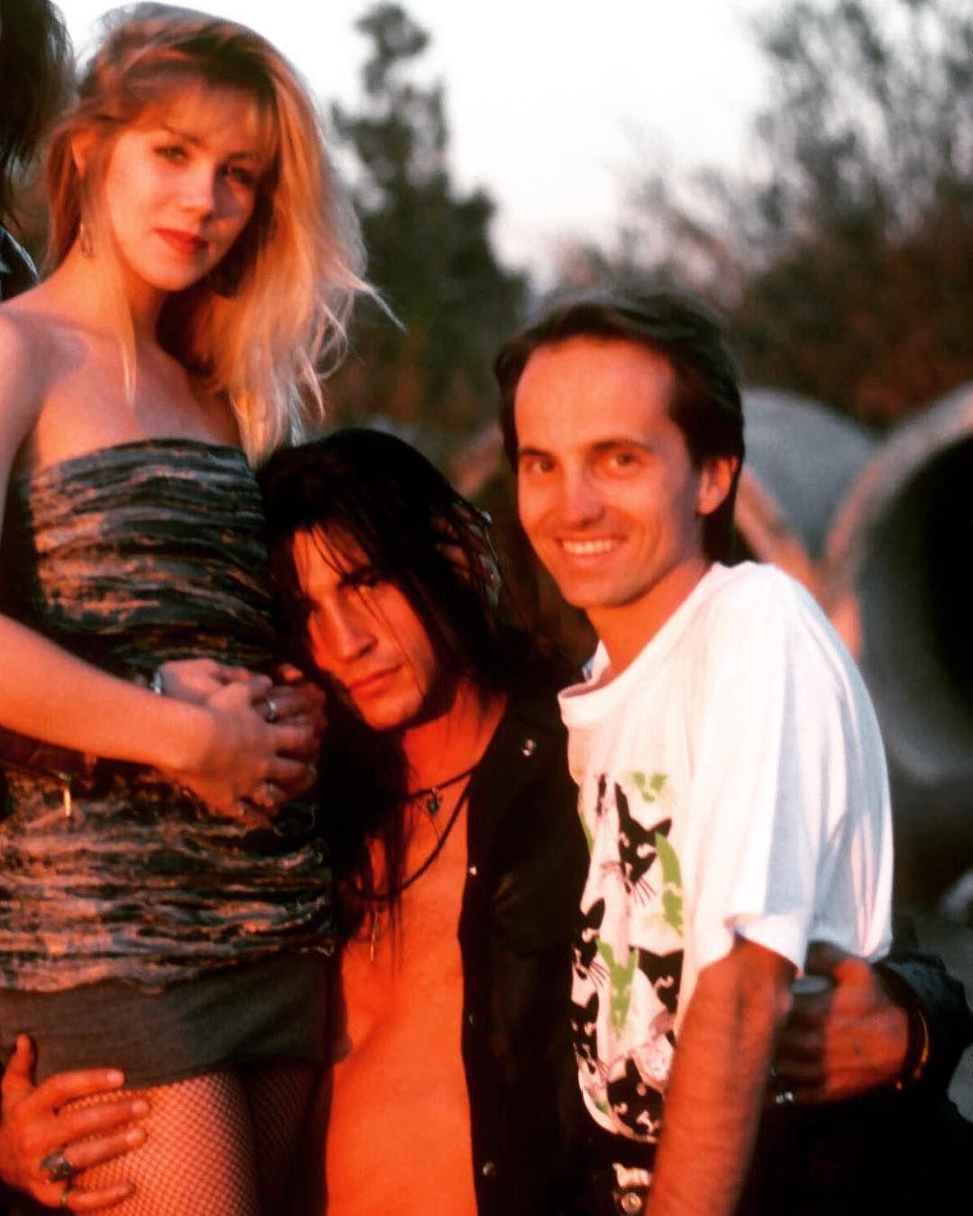 Christina Applegate, Billy Wirth & Barry King Billy