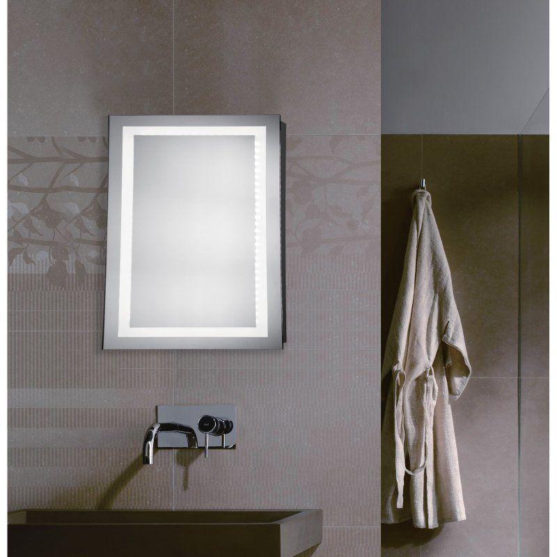 Elegant Decor Rectangle Led Wall Mirror Elegant Lighting Mirror