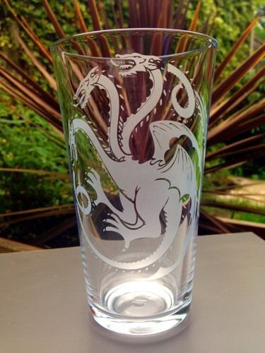 Game of #thrones engraved pint #glass - new - #handmade,  View more on the LINK: 	http://www.zeppy.io/product/gb/2/201612932630/