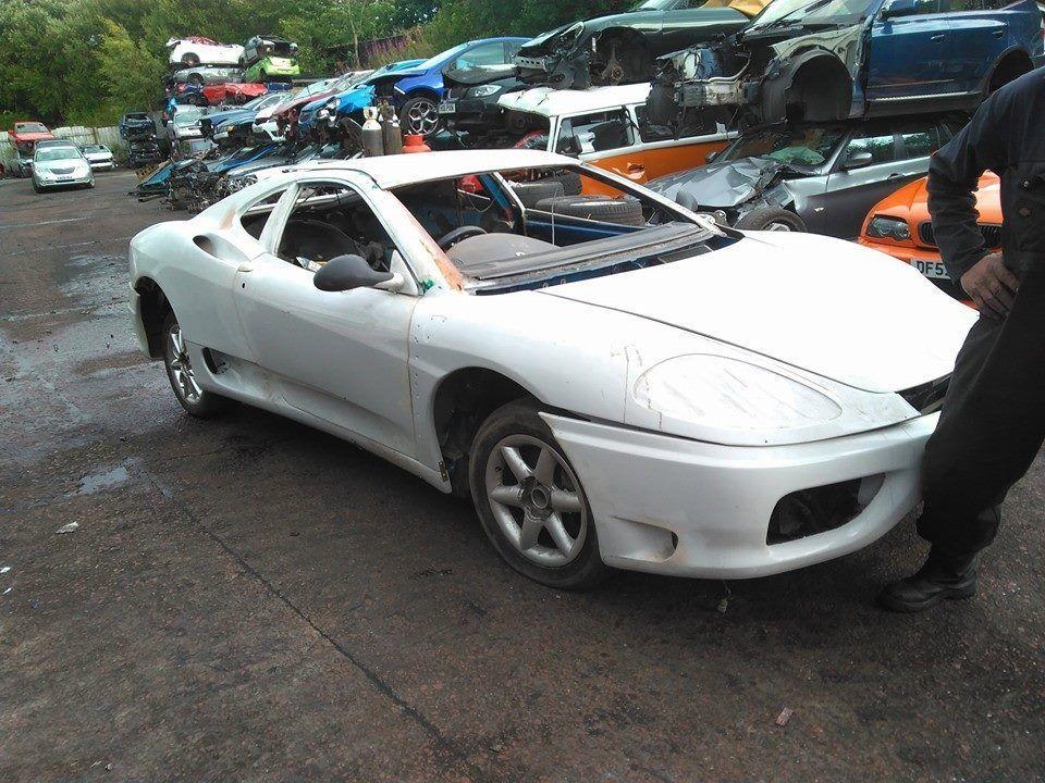 eBay: PEUGEOT 406 V6 COUPE FERRARI 360 REPLICA KIT CAR PROJECT TWO ...