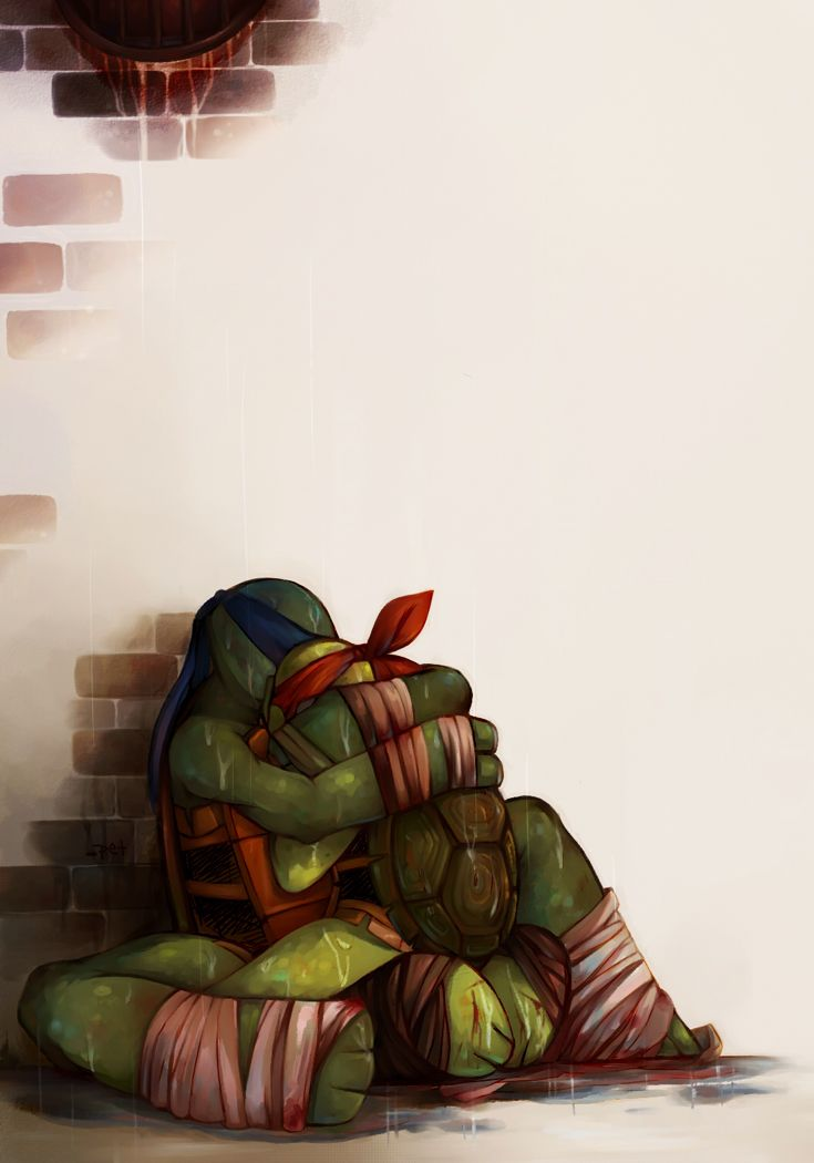 I have always thought of Leo as the nice big brother   Raph