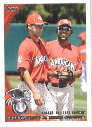 2010 Topps Update 57 Derek Jeter Elvis Andrus Yankees Rangers