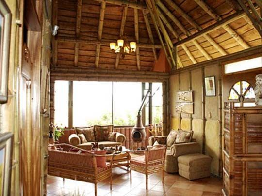 Traditional philippine interior native house wood bamboo  tilted roof and no facade also rh pinterest