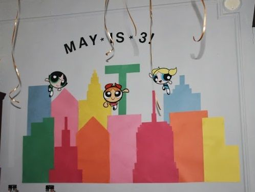 Diy Powerpuff Girls Wall Birthday Party Banner Kid39s
