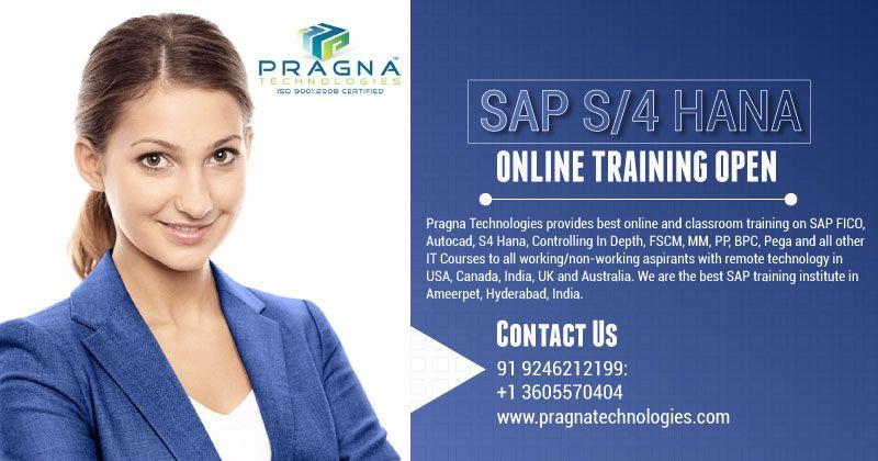 Sap S 4 Hana Simple Logistics Online Training With Images Online Training Classroom Training Advanced Training
