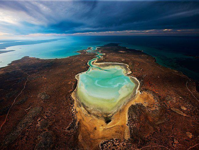 Shark Bay Freycinet Estuary In Western Australia One Of