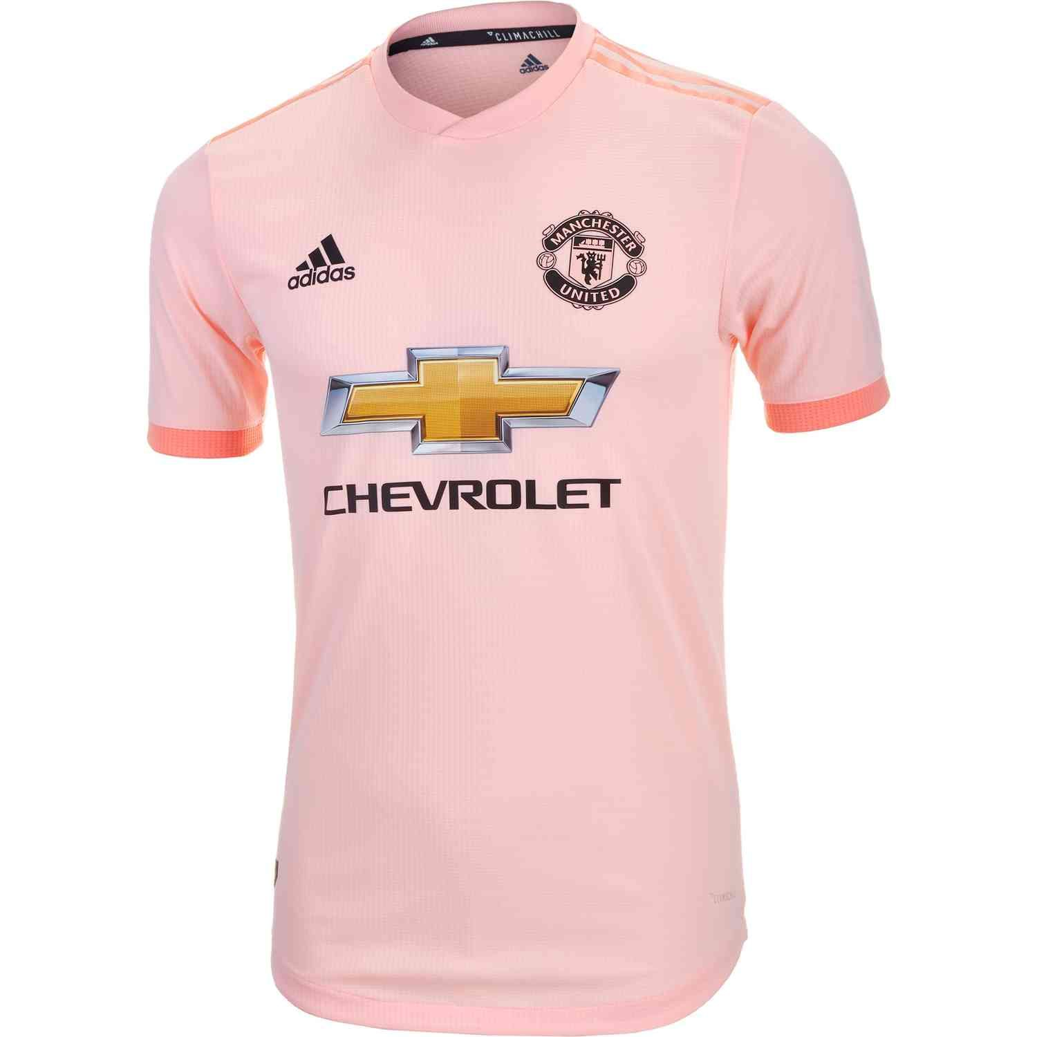 Adidas Manchester United Away Authentic Jersey 2018 19 Soccerpro Jersey Manchester United The Unit