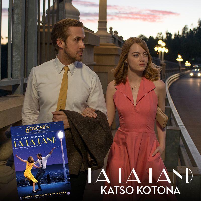 Nauti koko maailman hurmannut ja kuusi Oscaria voittanut LA LA LAND nyt mukavasti kotisohvalta käsin ✨  Osta tai vuokraa hurmaava LA LA LAND nyt DVD:nä, Blu-raynä tai digitaalisesti ja katso kotona