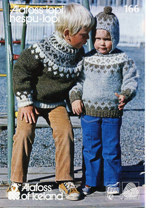childs / childrens Fair isle sweaters knitting pattern PDF chunky ...