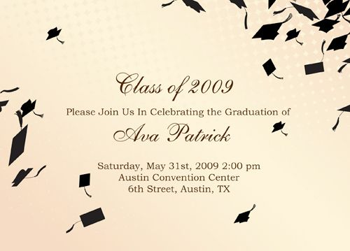 silhouette caps graduation pinterest graduation invitations