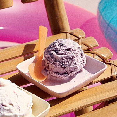 Amazing Blueberry Cheesecake Ice Cream