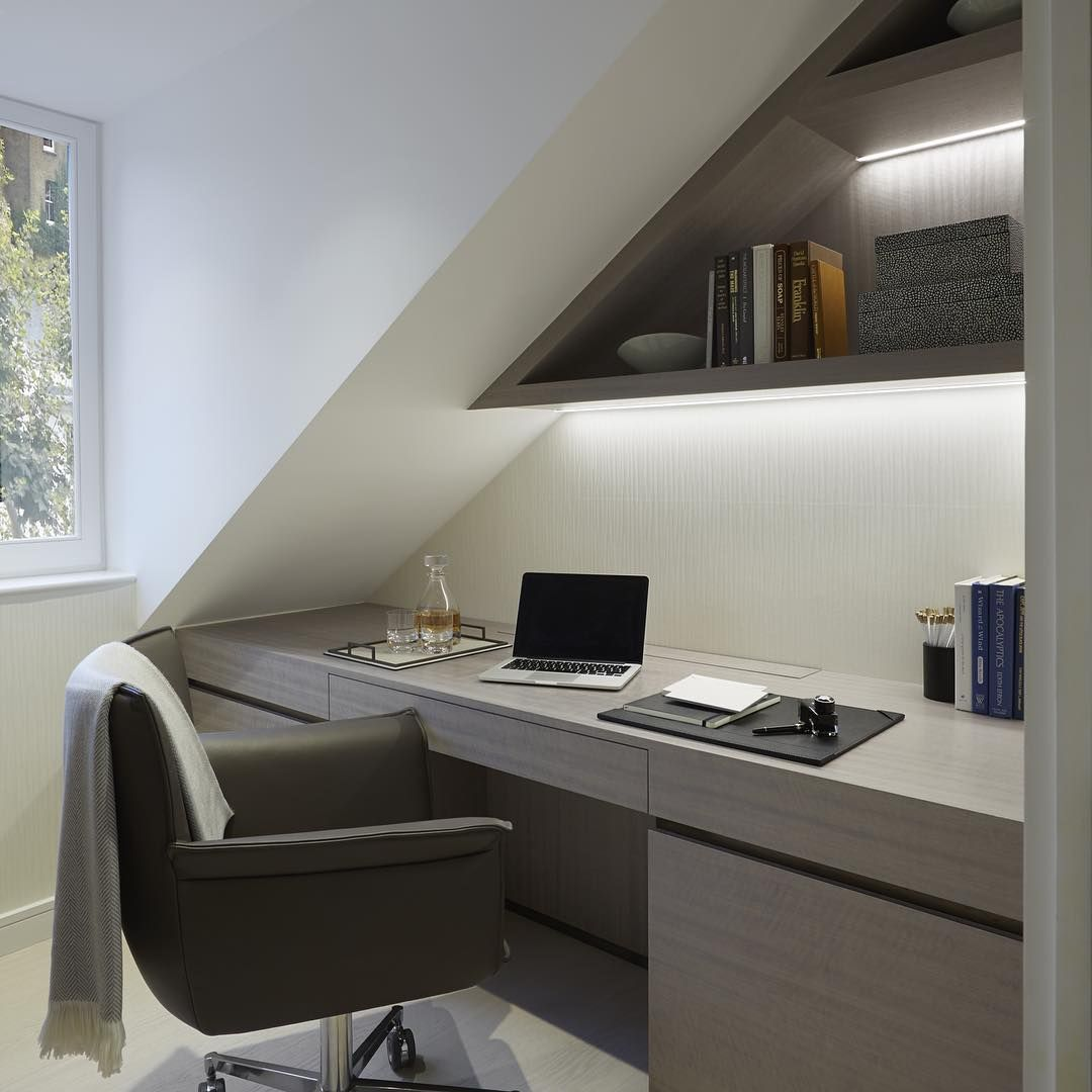 contemporary study furniture. Clean, Contemporary Study At Laura Hammet\u0027s Notting Hill Penthouse Project Furniture O