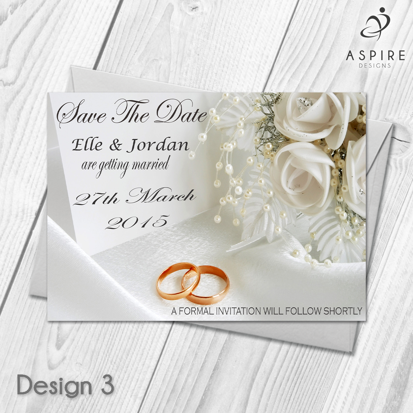 premium personalised wedding save the date cards wedding invites