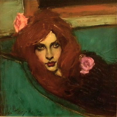 THE FAINTING COUCH by Malcolm  LIEPKE