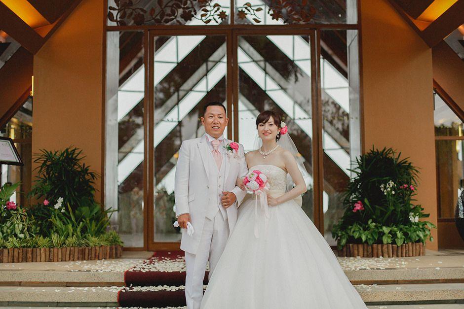 Shangrila Mactan Wedding Teruhiko And Kana Japanese Wedding Wedding Wedding Preparation