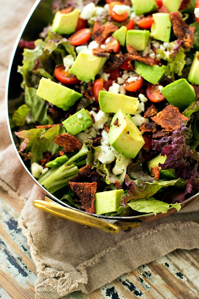 Chopped Salad--Carolina Girl Cooks