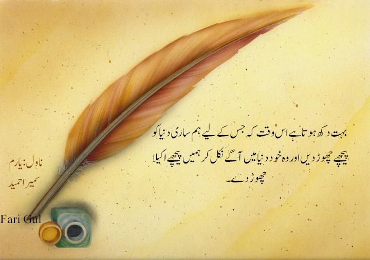 Novel, excerpts , urdu, fiction, Novel#Novel Yaram#Urdu