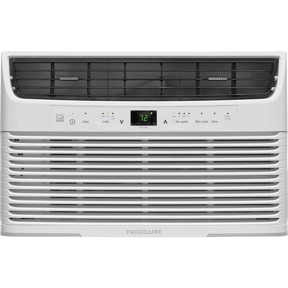 Frigidaire 5 000 Btu 115 Volt Window Mounted Mini Compact Air Conditioner With Full Functio Window Air Conditioner Room Air Conditioner Compact Air Conditioner
