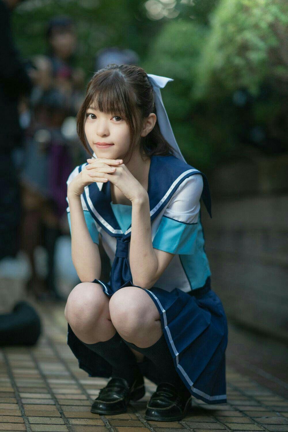 Pin on Asian Girls School Uniform