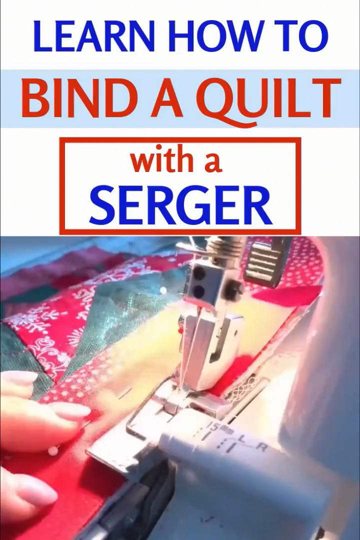 Making quilt binding with a serger  quilting tutorial Fantastic 30 projects are available on our web pages Check it out and you will not be sorry you did