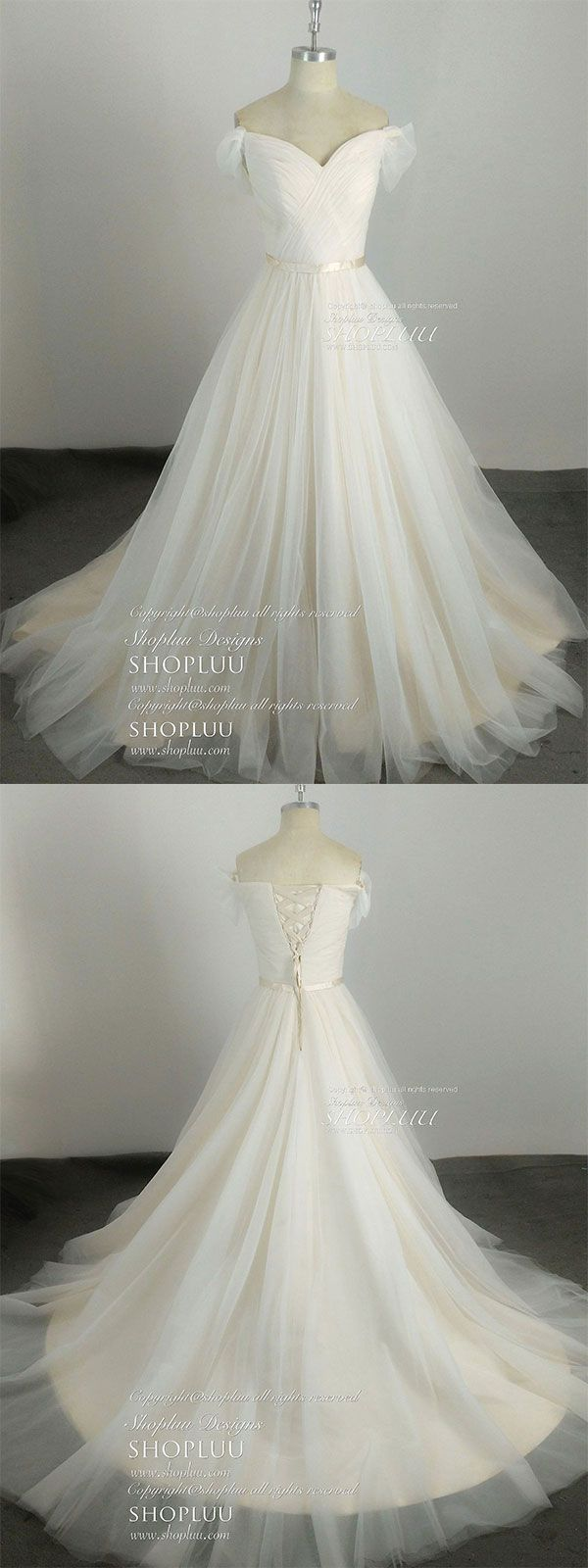 Light champagne sweetheart tulle long prom dress champagne evening