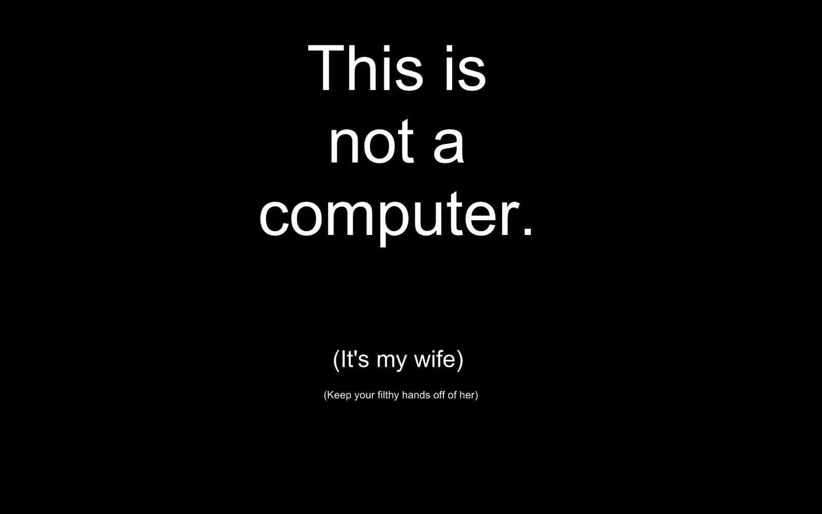 Very Funny Wallpapers for your Computer