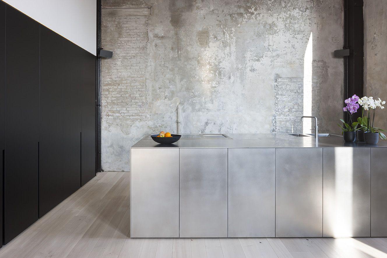 Beton In Interieur : Interieurfotografie van een strakke keuken door ilb interieur in