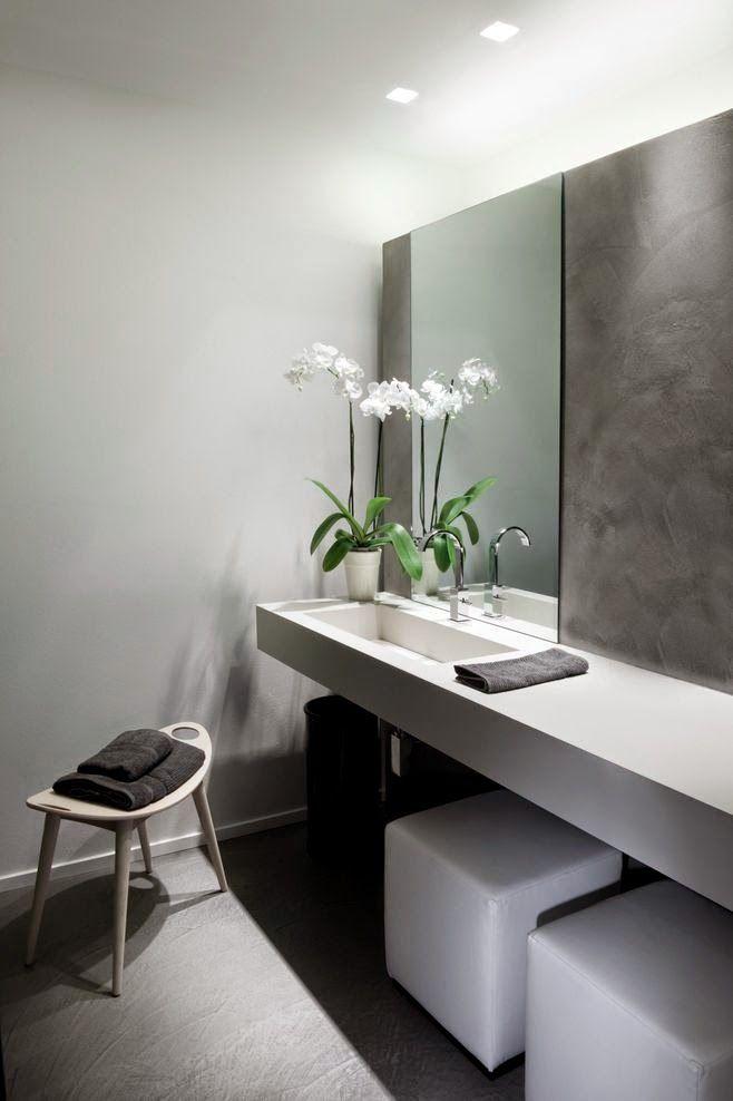 27 baños minimalistas en fotos, cuando menos es más   Pinterest ...