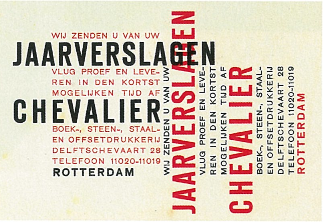 Dutch design from the 1930s