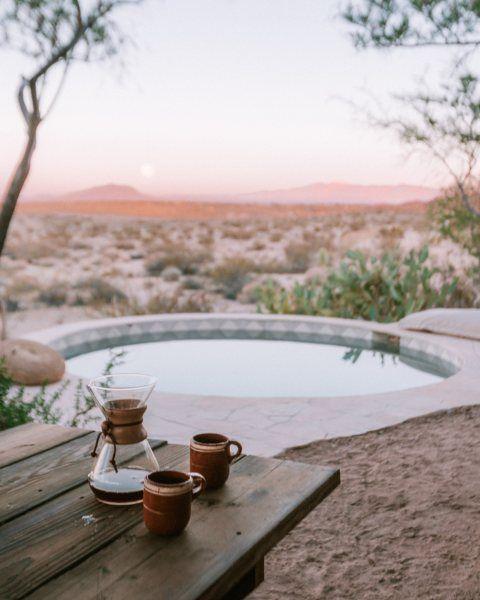 Project Spotlight The Joshua Tree House Pool Pool Houses Desert Homes Fireclay Tile