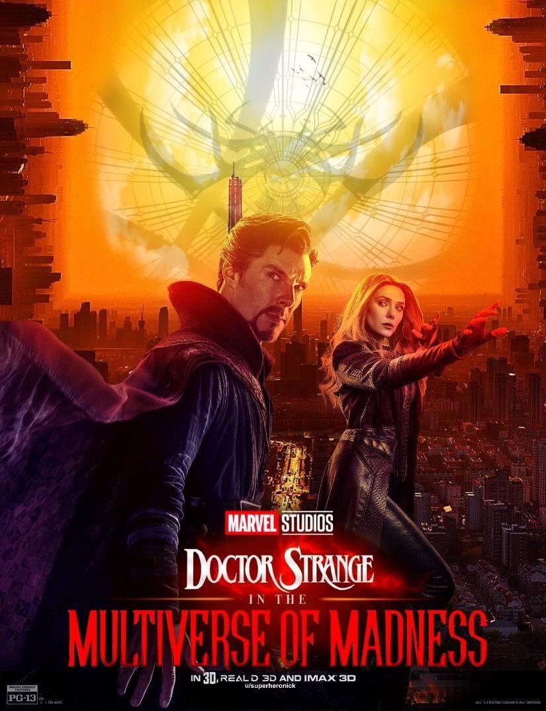 My Take On A Doctor Strange 2 Teaser Poster Doctor Strange Doctor Strange Marvel Scarlet Witch Marvel