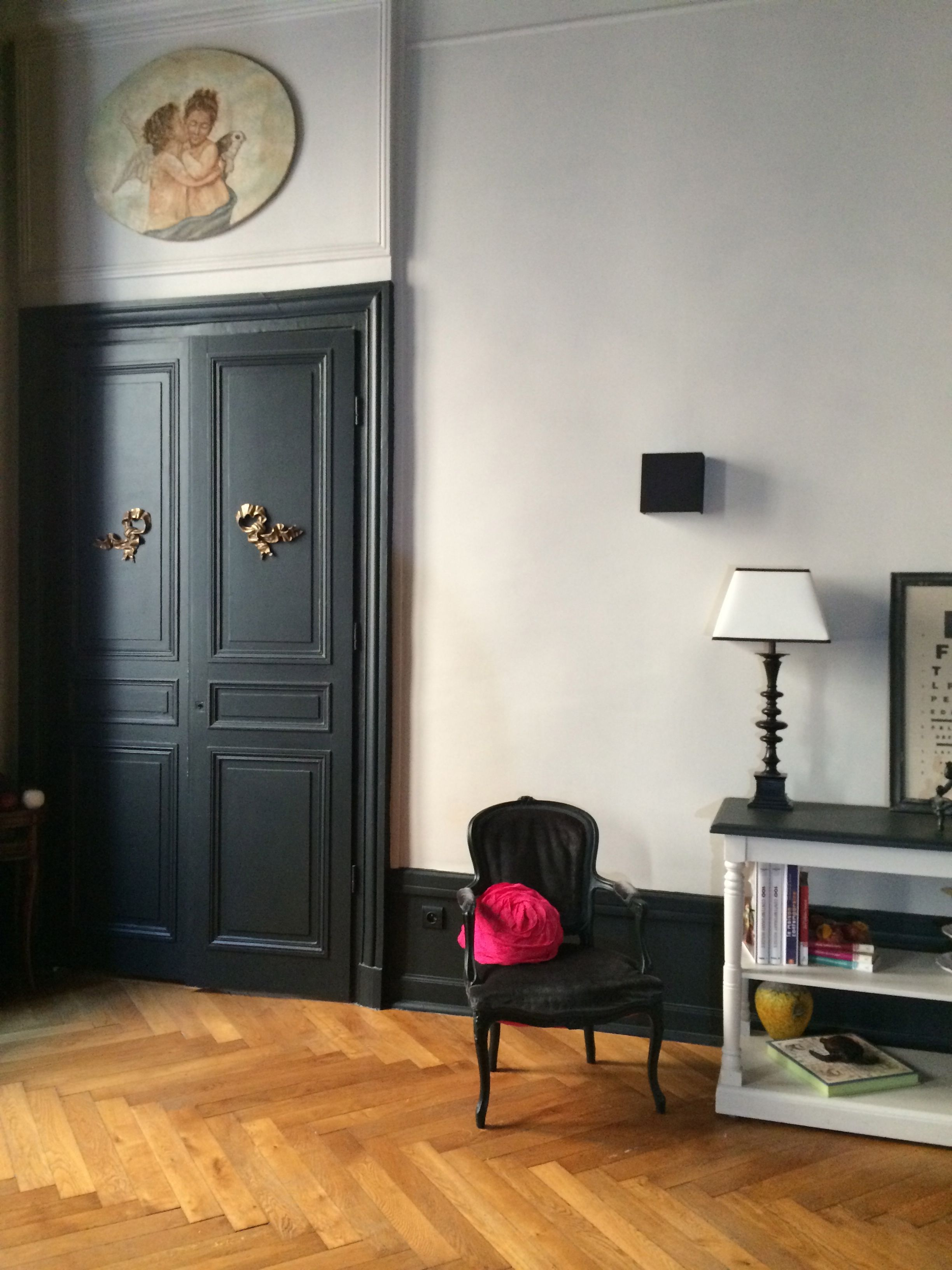 Peinture Farrow And Ball Pour Meubles Boiserie Off Black Farrow And Ball Appartement Lyonnais