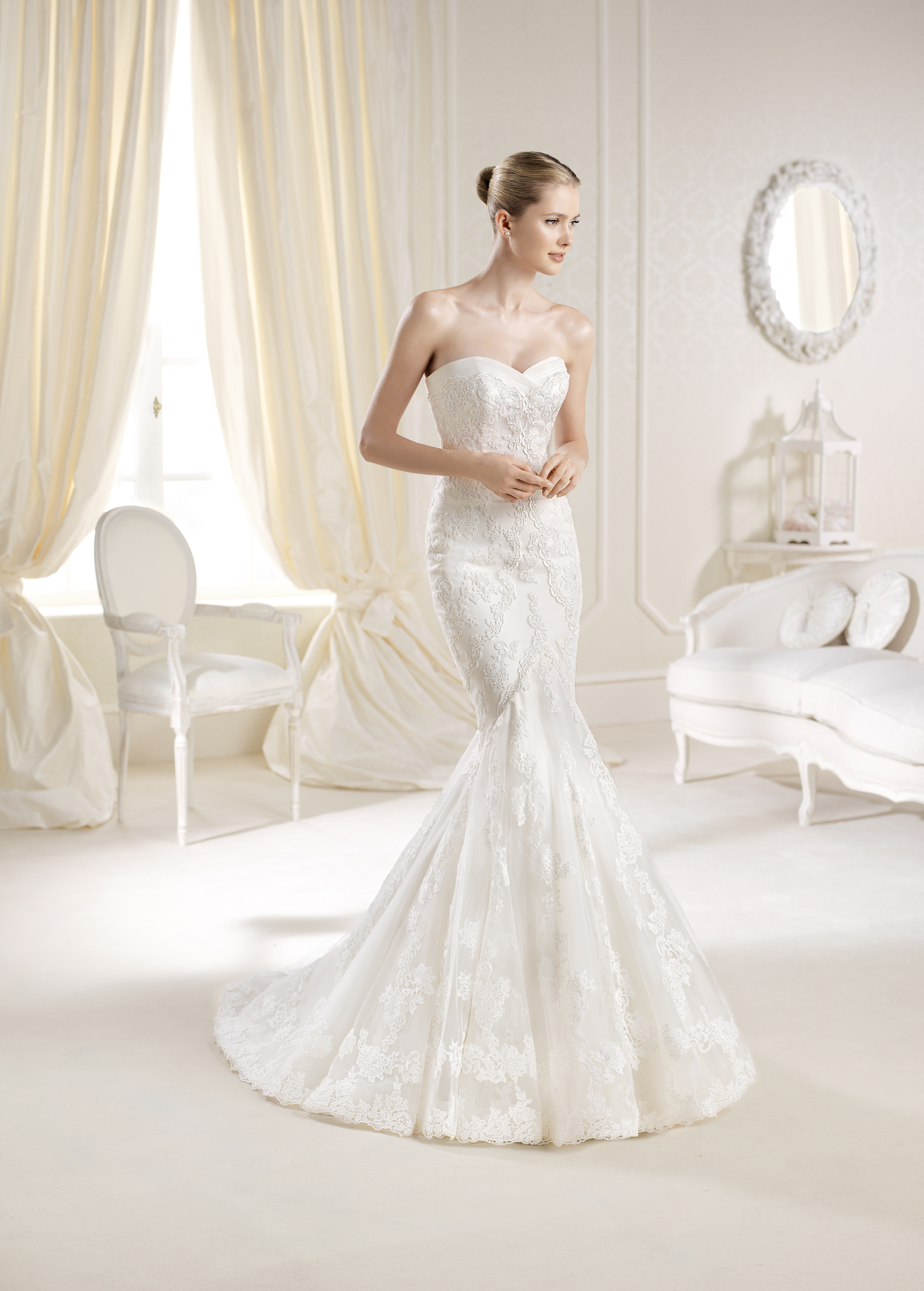Mullet Moo Let By Lasposa From Pronovias Size 10 Sample In