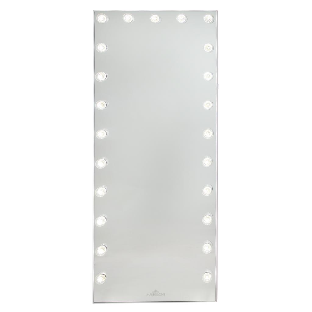 Hollywood Glow® FL Vanity Floor Mirror in 2020 | Hollywood ...