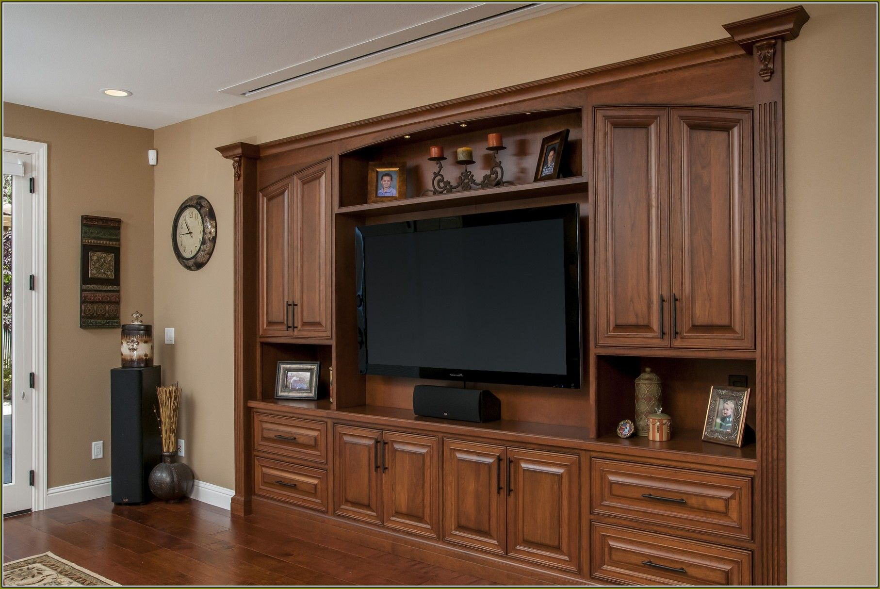 Wall to Wall cabinets | Posts related to Wall Flat Screen Tv ...