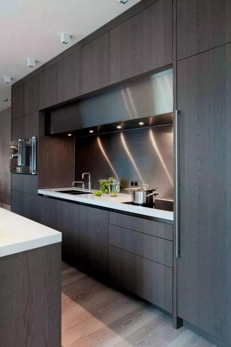 52 Most Beautiful Modern Kitchen Cabinets Ideas 35 Fieltro Net Kitchen Room Design Modern Kitchen Cabinet Design Contemporary Kitchen Cabinets