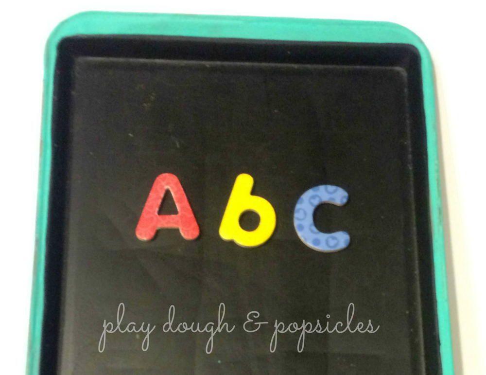 DIY Magnetic Chalkboard For Kids
