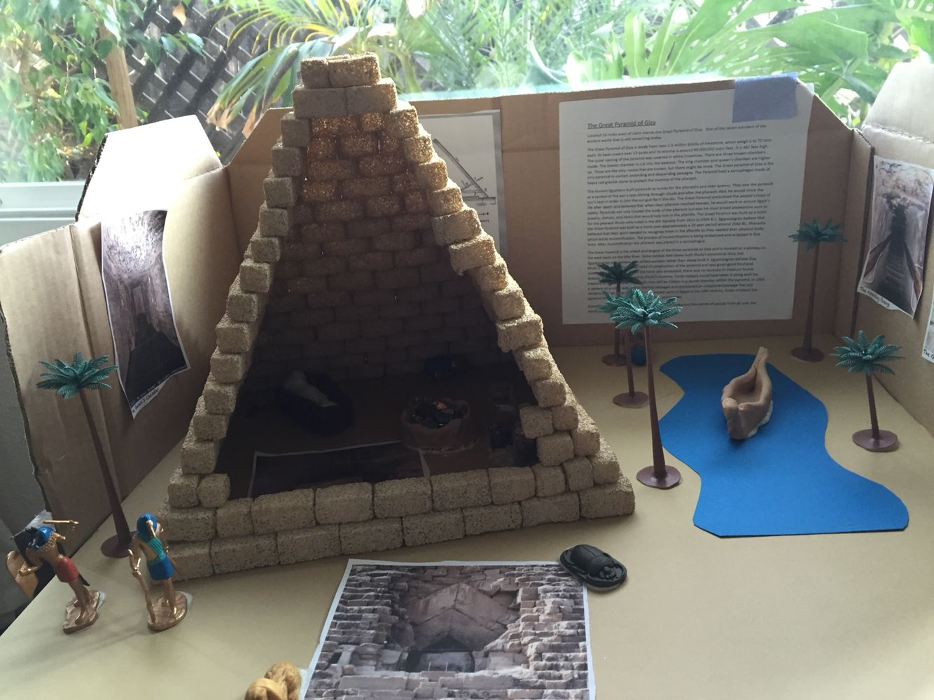 6th Grade Pyramid Project Pyramid Project Ideas Ancient Egypt